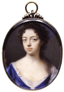 Anne Finch, Countess of Winchilsea, by Peter Cross - NPG 4692