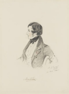 George Finch-Hatton, 11th Earl of Winchilsea, by Alfred, Count D'Orsay - NPG 4026(60)