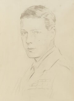 Prince Edward, Duke of Windsor (King Edward VIII), by Reginald Grenville Eves - NPG 4169