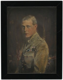 Prince Edward, Duke of Windsor (King Edward VIII), by Reginald Grenville Eves, circa 1920 - NPG 4138 - © National Portrait Gallery, London