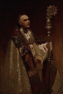 Arthur Foley Winnington-Ingram, by Frank Salisbury - NPG 5021