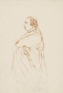 Nicholas Patrick Stephen Wiseman, attributed to Richard Doyle - NPG 4619
