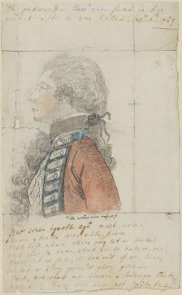 James Wolfe, by Elizabeth Christiana Cavendish (née Hervey), Duchess of Devonshire - NPG 688