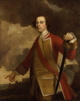 James Wolfe, by Unknown artist - NPG 1111
