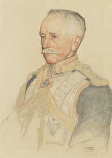 Garnet Joseph Wolseley, 1st Viscount Wolseley, by William Strang, 1908 - NPG 4059 - © National Portrait Gallery, London
