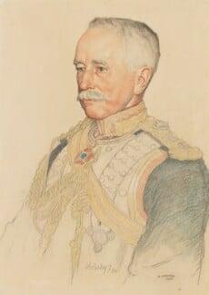 Garnet Joseph Wolseley, 1st Viscount Wolseley, by William Strang, 1908 - NPG 4059 - © National Portrait Gallery, London