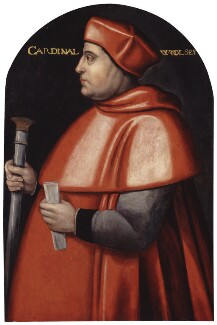Thomas Wolsey, by Unknown artist, 1589-1595, based on a work of circa 1520 - NPG  - © National Portrait Gallery, London