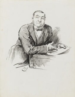 Henry Hartley Fowler, 1st Viscount Wolverhampton, by Harry Furniss - NPG 3533