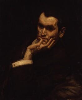 Francis Derwent Wood, by George Washington Lambert, 1906 - NPG 4416 - © National Portrait Gallery, London