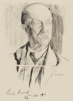 Sir (Henry) Evelyn Wood, by Flora Lion - NPG 3949