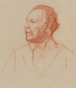 Sir Henry Joseph Wood, by William Rothenstein - NPG 6701