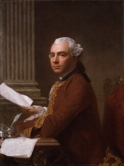 Robert Wood, by Allan Ramsay - NPG 4868