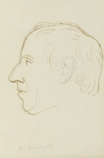 William Wordsworth, by Sir Francis Leggatt Chantrey - NPG 316a(146)