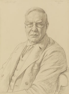 Sir Almroth Edward Wright, by Francis Dodd - NPG 4127