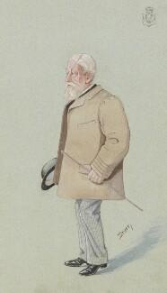 Arthur Wrottesley, 3rd Baron Wrottesley, by Harold Wright ('Stuff') - NPG 2972