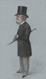 Sir Charles Lennox Wyke, by Carlo Pellegrini - NPG 4757