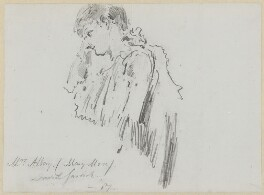 Mary Moore, by Sydney Prior Hall - NPG 2370
