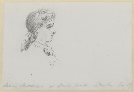 Mary Moore, by Sydney Prior Hall - NPG 2371