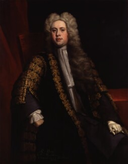 Sir William Wyndham, 3rd Bt, by Jonathan Richardson - NPG 4447