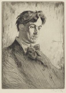 W.B. Yeats, by Augustus John - NPG 3061