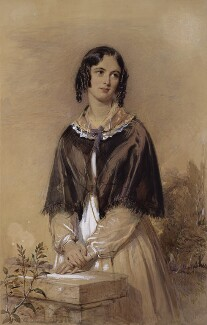 Charlotte Mary Yonge, by George Richmond - NPG 2193