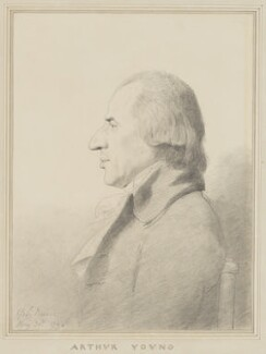 Arthur Young, by George Dance, 1794 - NPG 1162 - © National Portrait Gallery, London
