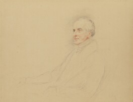 Charles Mayne Young, by John Linnell - NPG 1814