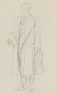 John Denton Pinkstone French, 1st Earl of Ypres, by John Singer Sargent - NPG 2908(11)
