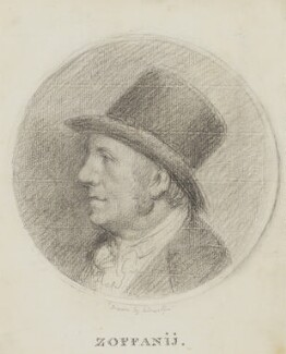 Johan Joseph Zoffany, by Johan Joseph Zoffany, circa 1795 - NPG 2536 - © National Portrait Gallery, London
