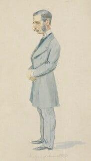 James Hamilton, 2nd Duke of Abercorn, by Sir Leslie Ward - NPG 6059