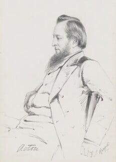 John Acton, 1st Baron Acton, by Frederick Sargent, 1880s? - NPG 5599 - © National Portrait Gallery, London