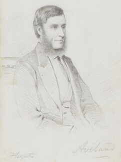 Gilbert Henry Heathcote-Drummond-Willoughby, 1st Earl of Ancaster, by Frederick Sargent, 1870s? - NPG 5620 - © National Portrait Gallery, London