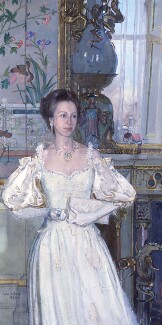 Princess Anne, by John Stanton Ward - NPG 5992