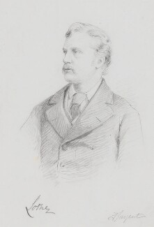 John Campbell, 9th Duke of Argyll, by Frederick Sargent - NPG 5612