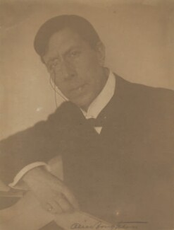 George Arliss, by Alice Boughton - NPG P184
