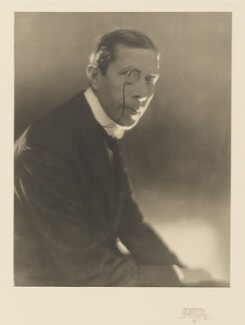 George Arliss, by Baron Adolph de Meyer - NPG P167