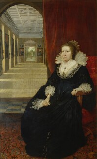 Aletheia Talbot, Countess of Arundel, by Daniel Mytens, circa 1618 - NPG 5293 - © National Portrait Gallery, London