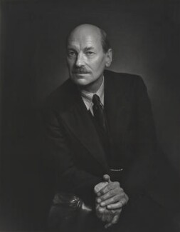 Clement Attlee, by Yousuf Karsh, 1944 - NPG P241 - © Karsh / Camera Press
