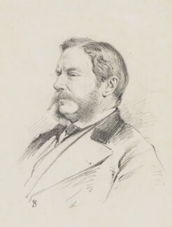 William Morton Eden, 5th Baron Auckland, by Frederick Sargent - NPG 5619