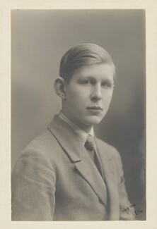 W.H. Auden, by James Soame, 1926 - NPG P417 - © National Portrait Gallery, London
