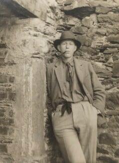 W.H. Auden, by John Bicknell Auden - NPG P418