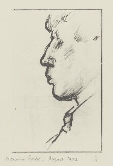 W.H. Auden, copy by E. Maurice Feild - NPG 5543