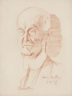 Herbert Austin, Baron Austin, by Ivan Opffer, 1933 - NPG 5436 - © National Portrait Gallery, London