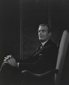 Anthony Eden, 1st Earl of Avon, by Yousuf Karsh - NPG P246