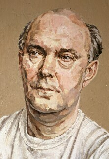 Sir Alan Ayckbourn, by Allan Ramsay, 1989 - NPG 6074 - © National Portrait Gallery, London