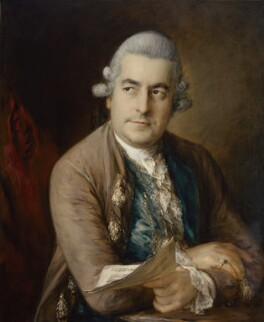 Johann Christian Bach, by Thomas Gainsborough - NPG 5557