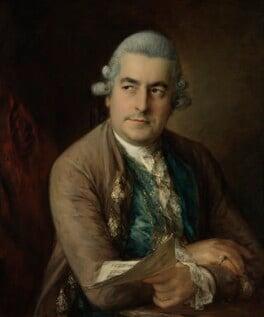 Johann Christian Bach, by Thomas Gainsborough, circa 1776 - NPG 5557 - © National Portrait Gallery, London