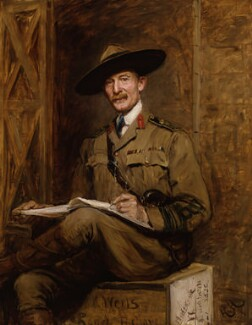 Robert Baden-Powell, by Sir Hubert von Herkomer, 1903 - NPG 5991 - © National Portrait Gallery, London