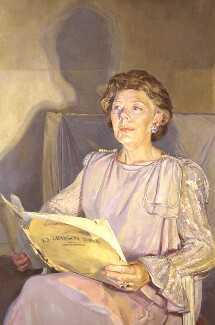 Janet Baker, by Daphne Todd - NPG 5987