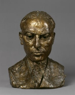 Michael Balcon, by Jacob Epstein - NPG 6060